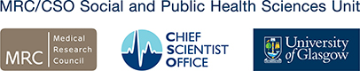 MRC/CSO Social and Public Health Sciences Unit Branding