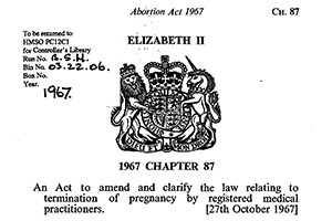 Abortion Act 1967